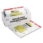 12 Bundle Capacity Tamper-Evident Cash Bags 20 x 24 Clear Box of 250 Bags (MMF2362007N20)