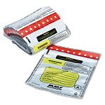 Tamper-Evident DepositCash Bags Plastic 9 x 12 White Box of 100 Bags (MMF2362010N06)
