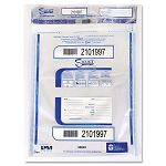 "Triple Protection Tamper-Evident Deposit Bags 9"" x 12"" Clear Pack of 100 (PMC58048)"