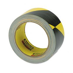 "Caution Stripe Tape 2""w x 108 ft. Roll (MMM57022)"