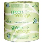Green Heritage Bathroom Tissue 2-Ply 500 Sheets White Carton of 48 Rolls (APM205GREEN)