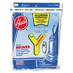 Disposable Allergen Filtration Bags For Commercial WindTunnel Vacuum 3 Pack (HVR4010100Y)