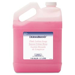 Mild Cleansing Pink Lotion Soap Pleasant Scent Liquid 1 Gallon Bottle (BWK410EA)