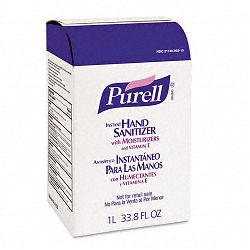 Instant Hand Sanitizer NXT Refill 1000 mL. Pouch Carton of 8 (GOJ215608CT)
