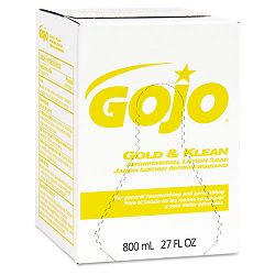 Enriched Lotion Soap Bag-in-Box Dispen. Refill Lightly Scented 800 mL. Carton of 12 (GOJ910212CT)