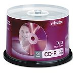 CD-R Discs 700MB80min 52x Spindle Silver Pack of 50 (IMN17301)