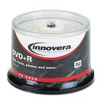 DVD+R Discs 4.7GB 16x Spindle Silver Pack of 50 (IVR46851)