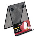 Nestable Wire Mesh Freestanding Desktop Copyholder Stainless Steel Black (ROLFG9C9500BLA)
