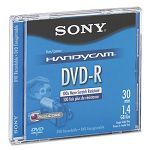 Mini (8cm) DVD-R Disc 1.4GB 2x with Jewel Case Silver (SONDMR30R1H)