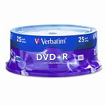 DVD+R Discs 4.7GB 16x Spindle Silver Pack of 25 (VER95033)