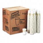 Hot Drink Cups Paper 8 oz. Sage Design Carton of 1000 (DXE2338SAGE)