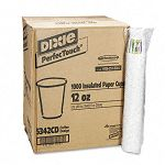 Hot Cups Paper 12 oz. Coffee Dreams Design Carton of 1000 (DXE5342CD)