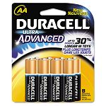 Ultra Advanced Alkaline Batteries AA Pack of 8 (DURMX1500B8Z)