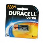 Ultra Advanced Alkaline Batteries AAAA Pack of 2 (DURMX2500B2PK)