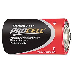 Procell Alkaline Battery D Pack of 12 (DURPC1300)