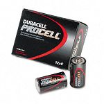 Procell Alkaline Battery C Box of 12 (DURPC1400)