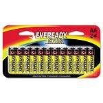 Gold Alkaline Batteries AA 24 BatteriesPack (EVEA91BP24HT)