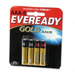 Gold Alkaline Batteries AAA 8 BatteriesPack (EVEA92BP8)