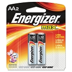 MAX Alkaline Batteries AA 2 BatteriesPack (EVEE91BP2)