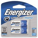 e2 Lithium Photo Battery 123 3V Pack of 2 (EVEEL123APB2)