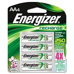 e² NiMH Rechargeable Batteries AA 4 BatteriesPack (EVENH15BP4)