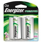 e² NiMH Rechargeable Batteries D 2 BatteriesPack (EVENH50BP2)
