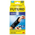 "Adjustable Reversible Splint Wrist Brace Fits Wrists 5 12""- 8 12"" BlackGray (MMM10770EN)"