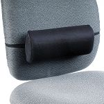 "Remedease Lumbar Backrest 11""w x 2-34""d x 5""h Black (SAF71101)"