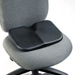 "Softspot Seat Cushion 15-34""w x 10""d x 3""h Black (SAF7152BL)"