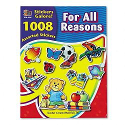 Sticker Book For All Reasons Pack of 1008 (TCR4226)