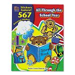 Sticker Book All Through the School Year Pack of 567 (TCR4229)
