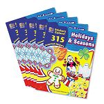 Sticker Book Holidays & Seasons Pack of 315 (TCR4230)