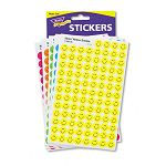 SuperSpots & SuperShapes Sticker Variety Packs Neon Smiles Pack of 2500 (TEPT1942)
