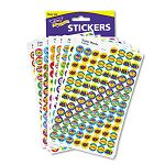SuperSpots & SuperShapes Sticker Variety Packs Positive Praisers Pack of 2500 (TEPT1945)