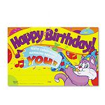 "Recognition Awards Happy Birthday! 8-12""w x 5-12""h Pack of 30 (TEPT8100)"
