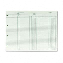 "Accounting 9-14"" x 11-78"" 100 Loose SheetsPack (WLJGN2B)"