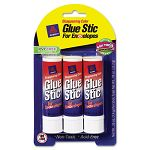 Glue Stic for Envelopes .26 oz Stick Pack of 3 (AVE00134)