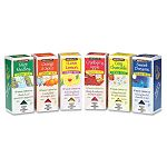 Assorted Tea Packs Six Flavors 28 Tea BagsFlavor Carton of 168 (BTC16578)