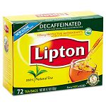 Tea Bags Decaffeinated 72 BagsBox (LIP290)