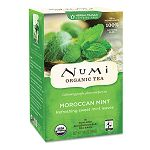 Organic Teas and Teasans 1.4 oz Moroccan Mint Box of 18 (NUM10104)
