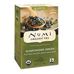 Organic Teas and Teasans 1.27 oz Gunpowder Green Box of 18 (NUM10109)