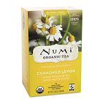 Organic Teas and Teasans 1.8 oz Chamomile Lemon Box of 18 (NUM10150)
