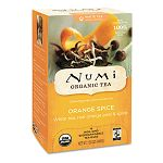 Organic Teas and Teasans 1.58 oz White Orange Spice 16Box (NUM10240)