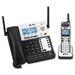 SynJ Four-Line CordedCordless Small Business Phone System (ATTSB67118)