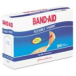 "Flexible Fabric Adhesive Bandages 1"" x 3"" Box of 100 (JOJ4444)"