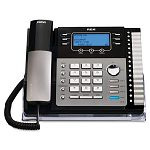 ViSYS 25425RE1 Four-Line Phone with Digital Answering Machine Caller ID (RCA25425RE1)