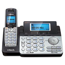 Two-Line Expandable Cordless Phone with Answering System (VTEDS6151)