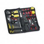 55-Piece Computer Tool Kit in Black Vinyl Zipper Case (FEL49106)