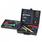 110-Piece HomeOffice Tool Kit Drop Forged Steel Tools Black Plastic Case (GNSTK110)
