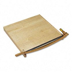 "ClassicCut Ingento Solid Maple Paper Trimmer 15 Sheets Maple Base 30"" x 30"" (SWI1172)"